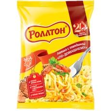 Вермишель быстрого приготовления со вкусом говядины Роллтон 60 гр