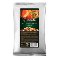 Чай черный Greenfield с ароматом фруктов Caribbean Fruit мягкая упаковка 250 гр