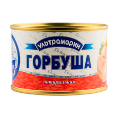 Горбуша Ультрамарин натуральная с ключом ГОСТ 32156-2013 240 гр