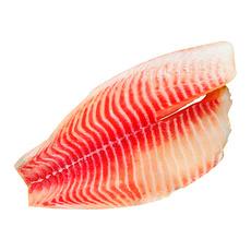Филе тилапии с/м б/кожи 0,2 кг 5% глазурь Россия ~ 0,5 кг