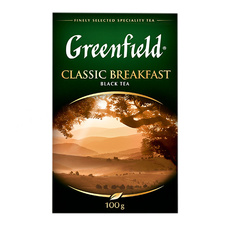 Чай черный Greenfield Classic Breakfast индийский 100 гр