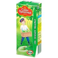 Сок Зеленое блоко Сады Придонья 0,2 л