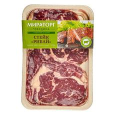 Стейк Рибай из говядины (травяной откорм) охлажденный Мираторг 500 гр