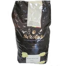 Шоколад белый диски Бланш Селексьен Бельгия 30% Пуратос ~ 5 кг