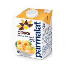Сливки Parmalat 23% стерилизованные 500 мл