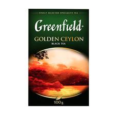 Чай черный Greenfield Golden Ceylon (Sunrise) 100 гр