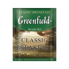 Чай Greenfield Classic Breakfast черный индийский с/я 100 пак*2 гр