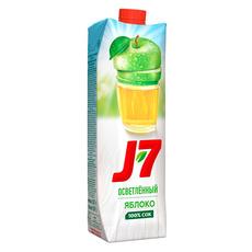 Сок J7 яблочный осветленный 0,97 л