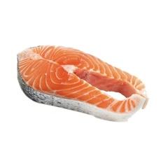 Стейк лосося с/м сухая заморозка ~ 1 кг