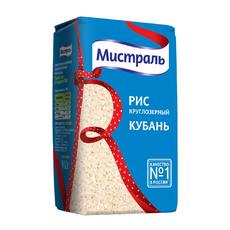 Рис круглозерный Кубань  Мистраль 900 гр
