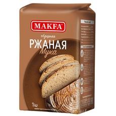 Мука ржаная хлебопекарная Макфа 1 кг