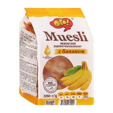 Мюсли запеченные с бананом  ОГО 350 гр