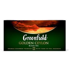 Чай черный Greenfield Golden Ceylon  25 пак * 2 гр 1 уп