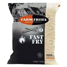 Картофель фри 7 мм Fast Fry Farm Frites 2,5 кг