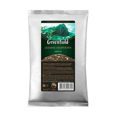 Чай зеленый Greenfield Jasmine Symphony с жасмином листовой мягкая упаковка 250 гр