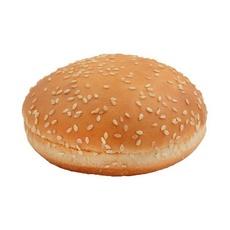 Булочка для гамбургера с кунжутом Lantmannen Unibake d125мм 82 гр