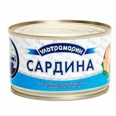 Сардина Ультрамарин НДМ с ключом ГОСТ 13865-2000 240 гр