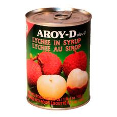 Личи в сиропе AROY-D железная банка (сухой вес 230 гр) 0,565 кг