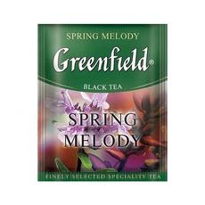 Чай Greenfield Spring Melody травяной с чабр,мят.и лист.смор. с/я 100 пак*1,5 гр