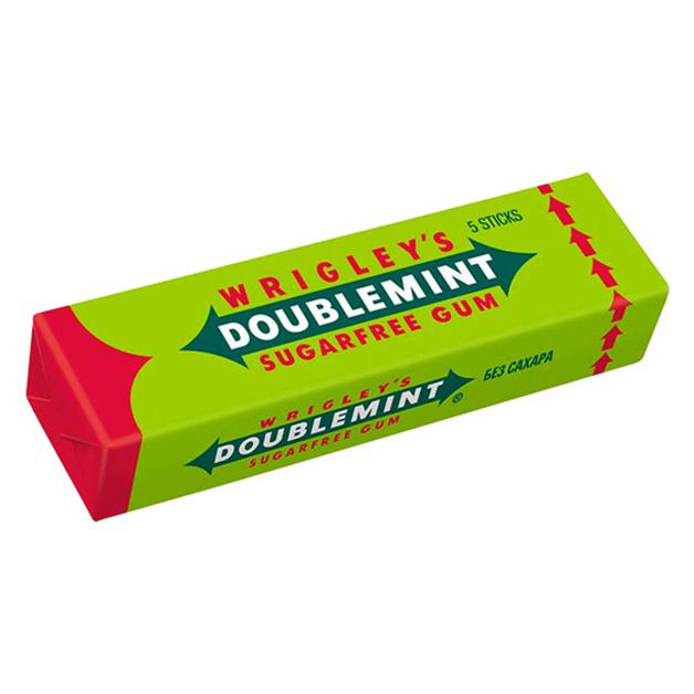 Жевательная резинка Wrigleys Spearmint sugarfree 13 гр