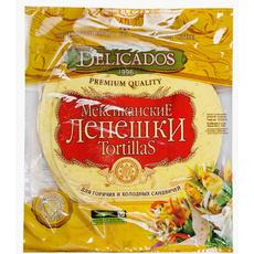 Лепешки (тортильи) мексиканские пшеничные с сыром диаметр 25 см 810 гр