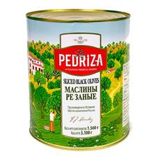Маслины резаные La Pedriza ж/б Испания 3,1 кг (сух.вес 1,56 кг)