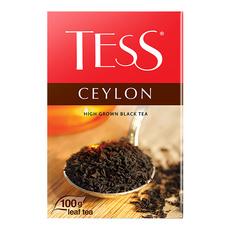 Чай черный Tess Ceylon высокогорный листовой 100 гр