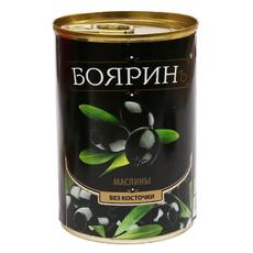 Маслины Бояринъ без косточки ж/б 300 мл (сух.вес 90 гр)