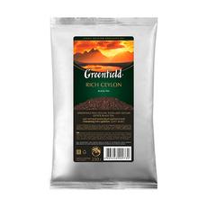 Чай черный Greenfield Rich Ceylon листовой мягкая упаковка 250 гр