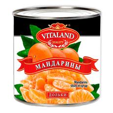 Мандарины дольки Vitaland ж/б 3,1 л (сух вес 1,7 кг)