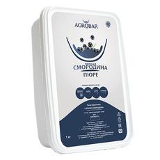 Пюре из черной смородины заморозка Агробар 1 кг