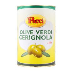 Оливки гигант с косточкой Чериньола Pucci сух. вес. 2500 гр