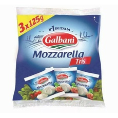 Сыр Моцарелла Трио Гальбани 45% 3 шт*125 гр