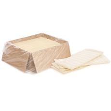 Тесто слоеное бездрожжевое промышленное Черёмушки (1 пластина-500 гр)