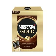 Кофе растворимый сублимированный Nescafe Gold Черный 2 гр