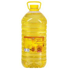 Масло подсолнечное рафинированное 1 сорт Sunny Gold 5 л