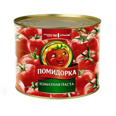 Томатная паста ж/б 28-30% Помидорка 2200 гр