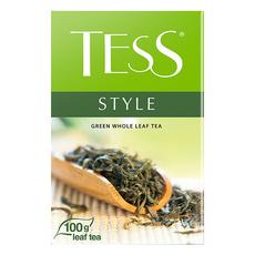 Чай Tess Style зеленый лист 100 гр