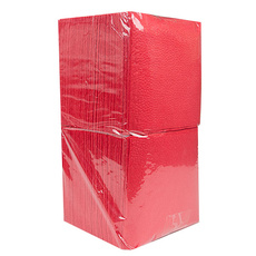Салфетки красные 24х24 см (400 листов) 1 уп