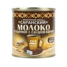 Молоко сгущенное вареное с сахаром СКЗ  8,5% ж/б 380 гр