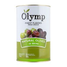 Оливки в рассоле б/к Греция 4,4 кг (сух. вес 2,0 кг)