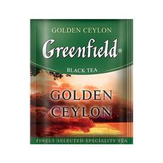 Чай Greenfield Golden Ceylon черный с/я 100 пак*2 гр