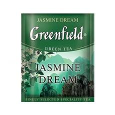 Чай Greenfield Jasmine Dream зеленый китайский жасминовый с/я 100 пак*2 гр