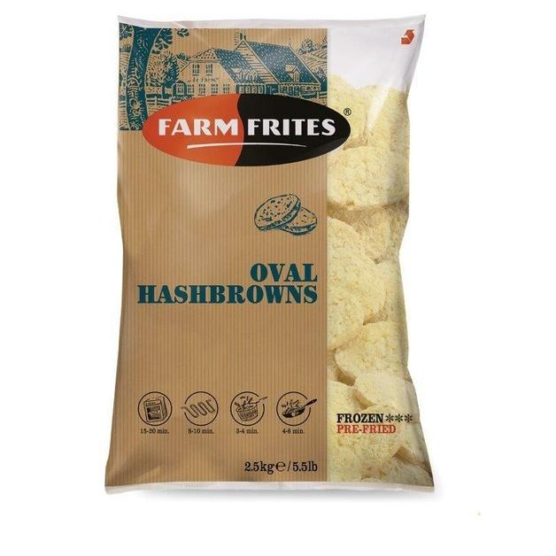 Хэшбраун Farm Frites 2,5 кг