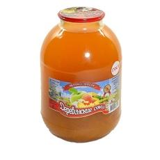 Нектар Яблочно-персиковый Деревенские Соки 3 л
