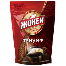 Кофе растворимый сублимированный Жокей 450 гр