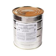 Молоко цельное сгущенное с сахаром вареное СКЗ ГОСТ 33921-2016 3,8 кг