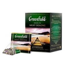 Чай зеленый улун Greenfield Milky Oolong пирамидки 20 шт * 1,8 гр 1 уп