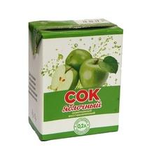 Сок Яблочный Широкий Карамыш  0,2 л