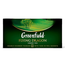 Чай зеленый Greenfield Flying Dragon китайский 25 пак * 2 гр 1 уп